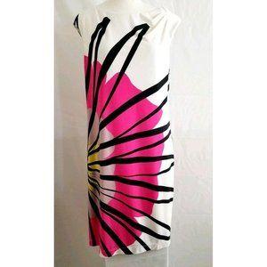 New Directions Women's Sleeveless A-Line Dress 10